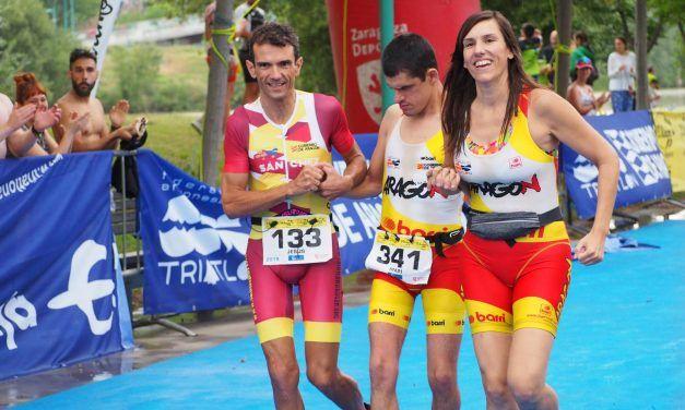 APASCIDE de la mano de Jorge España, el primer sordociego que completa un triatlón
