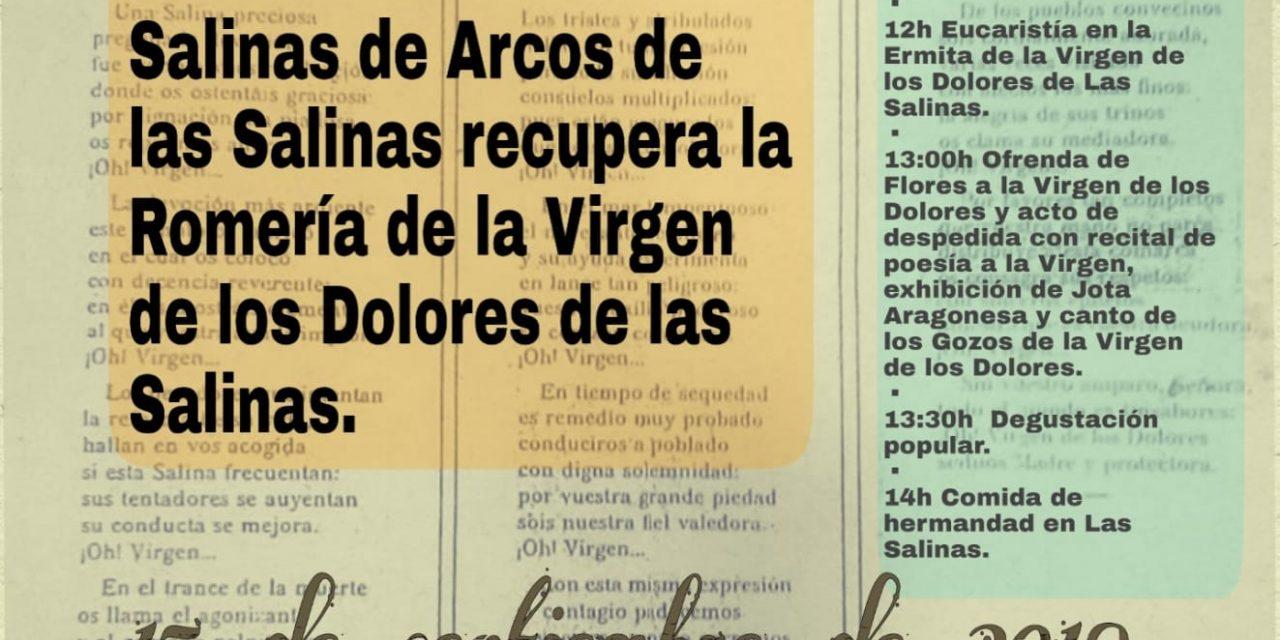 VUELVE LA ROMERÍA DE LA VIRGEN DE LOS DOLORES A ARCOS DE LAS SALINAS, EN TERUEL