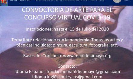 Concurso Virtual de Arte COVID-19 de la Fundación Matilde Tamayo