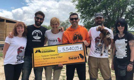 La fundación OchoTumbao ayuda a Wings of Heart