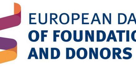 1 DE OCTUBRE: DÍA EUROPEO DE FUNDACIONES Y DONANTES