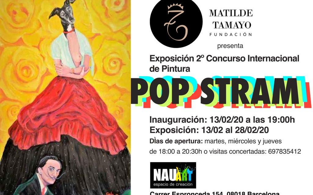 ABIERTA LA EXPOSICIÓN 2º CONCURSO INTERNACIONAL DE PINTURA POP STRAM DE LA FUNDACIÓN MATILDE TAMAYO