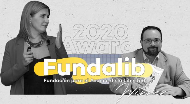 La Fundación para el Avance de la Libertad ha ganado el European Liberty Award 2020