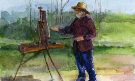 I Jornada de Pintura de paisaje y visita al estudio de Agustín Alegre