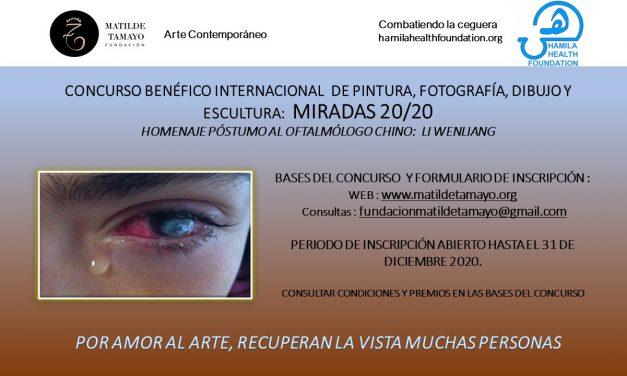 CONCURSO BENÉFICO INTERNACIONAL DE ARTE DE LA FUNDACIÓN MATILDE TAMAYO: MIRADAS 20/20